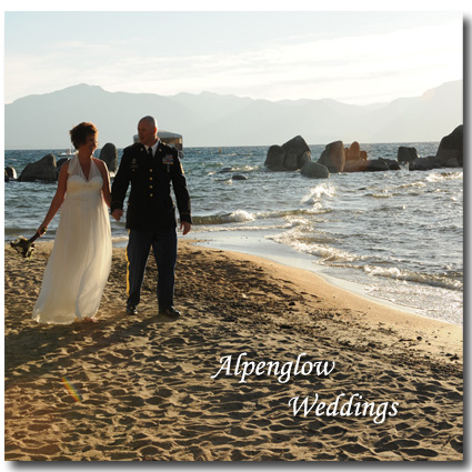 Alpenglow Weddings logo photo for contact page