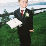 A very happy ring bearer