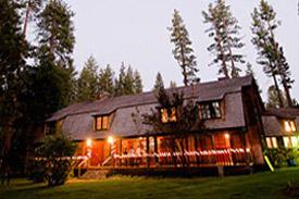 The wedding hall is located near Camp Richardson
