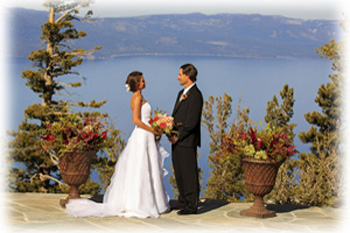 Just married at Heavenly