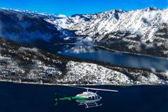 Airborne over Tahoe